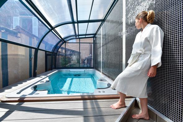 Prélude aquatique à la Maison Spa et Beauté